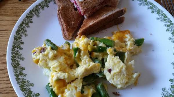 Think Spring Scrambled Eggs Recipe