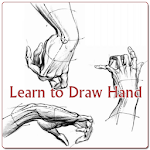 Learn to Draw Hand Icon