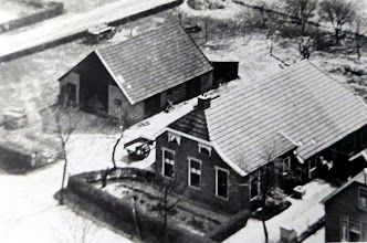 Photo: Boerderij van de familie Hilbrands aan de Naweg