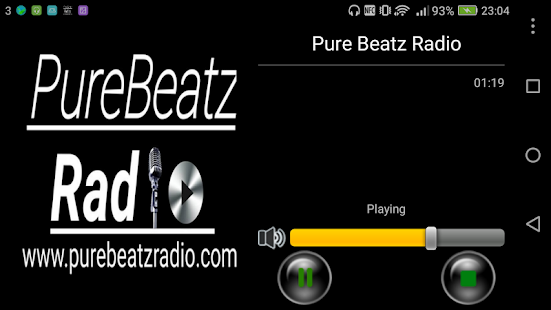 Pure Beatz Radio- screenshot thumbnail