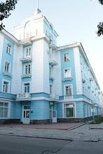 Photo: Мончегорск очень напоминает Питер ,как потом нам рассказали друзья , его строили Ленинградские архитекторы .