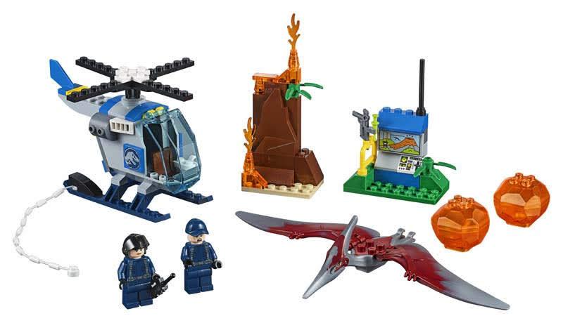 Contenido de Lego® 10756 Huida del Pteranodon