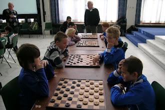 Photo: Schooldamtoernooi gemeente Velsen. 16 November 2011. (foto Sjaak van der Sel)