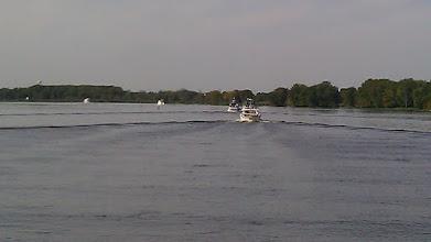 Photo: The flotilla.