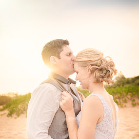Untitled by Valerie Meyer - Wedding Bride & Groom ( reception, pre-ceremony, kwazulu-natal, martin, blythedale beach, lyhandi, bride, ceremony, groom )