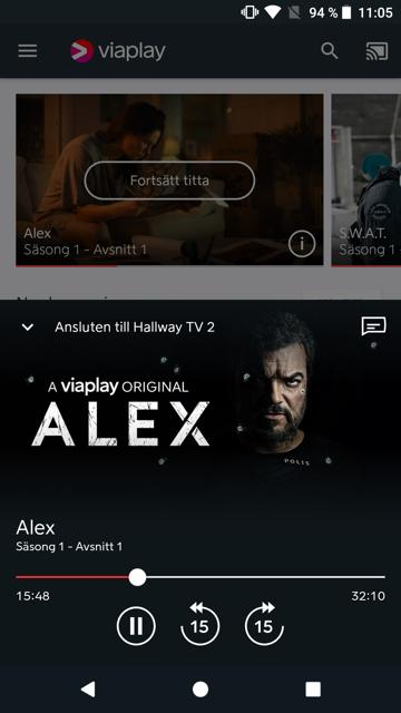 Viaplay- screenshot