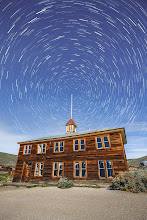 Photo: Bodie Schoolhouse at Night