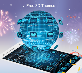 CM Launcher 3D - Theme, Wallpapers, Efficient- screenshot thumbnail