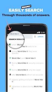 Brainly Homework Help Solver Screenshot Thumbnail