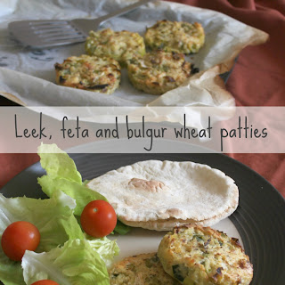 Leek, Feta and Bulgur Wheat Patties Recipe