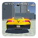 Corvette C7 Drift Simulator: Car Games Racing 3D icon