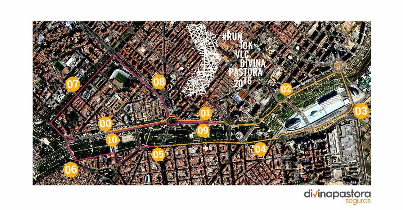 Circuito 10K Divina Pastora Valencia 2016