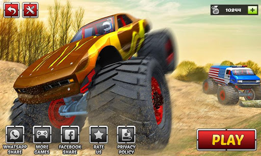 Offroad Monster Truck Driving Trials 2019 1.2 screenshots 1