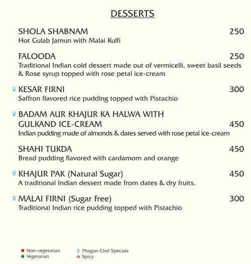Phagun menu 3