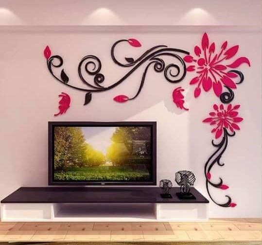 Wall Sticker Design Ideas awesome 3d wall stickers for your home decor Wall Decoration Design Ideas Screenshot
