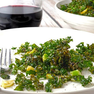 Roasted Kale Recipe