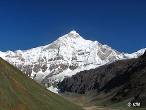 Photo: Nandadevi East (and its south-west wall) from Base Camp