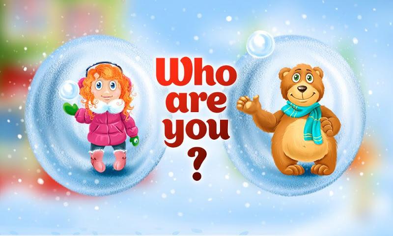 android Christmas magic snowballs Screenshot 2
