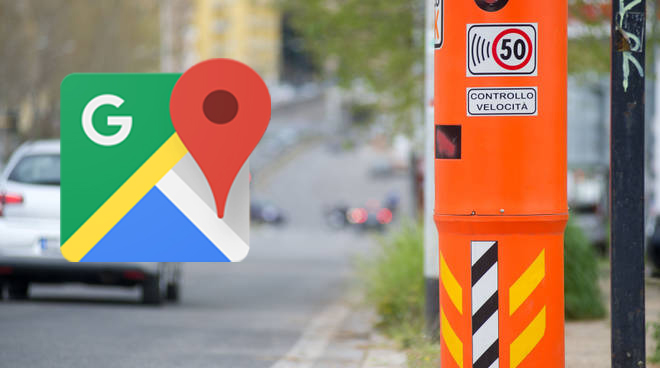 Autovelox Google Maps: avvisi fissi e mobili in italia ed europa
