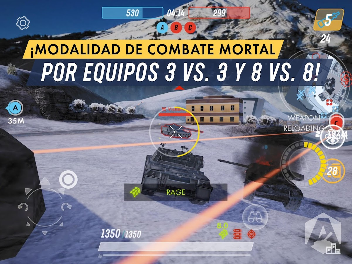 Armored Warfare: Assault: captura de pantalla