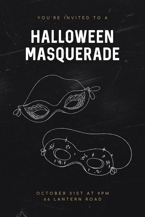Halloween Masquerade - Halloween Template