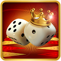 Backgammon King Online 🎲 Free Social Board Game icon
