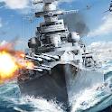 Battleship Empire: WW2 Naval Battles and Warships icon