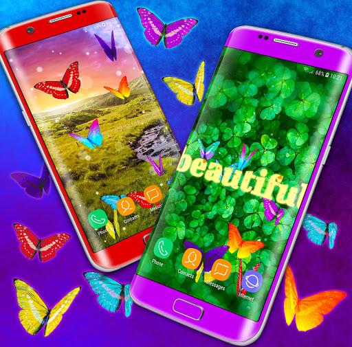 HD Neon Butterfly Live Wallpaper ud83eudd8b 4K Wallpapers screenshots 2