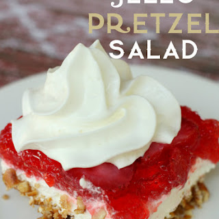 Jello Pretzel Salad.