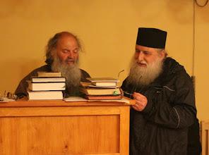 Photo: С игумена на манастира - архимандрит Сава.