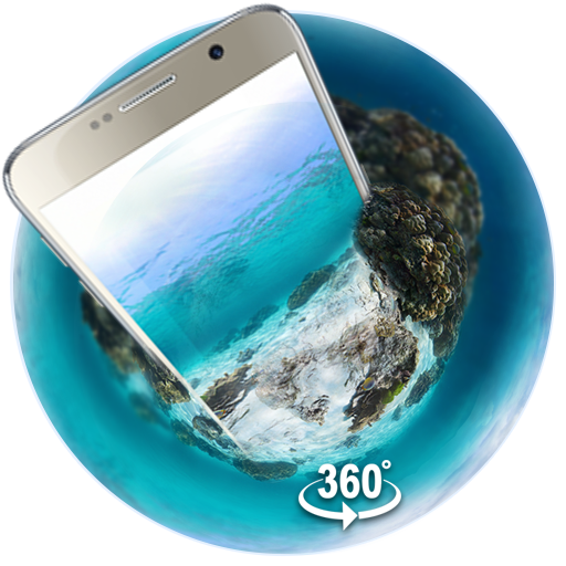 Underwater world 3D Theme&wallpaper (VR Panoramic)
