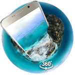Underwater world 3D Theme&wallpaper (VR Panoramic) Icon