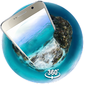 Underwater world 3D Theme&wallpaper (VR Panoramic)