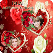 Dual Love Photo Frames HD