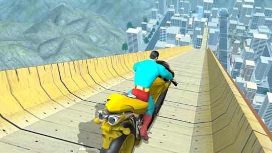Super Hero Bike Mega Ramp 2 10