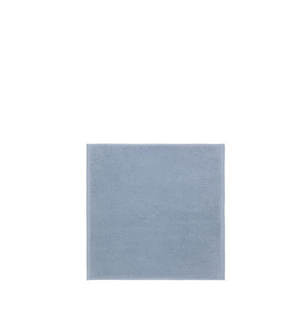 PIANA, Badrumsmatta 55x55 cm, Ashley Blue, Blomus