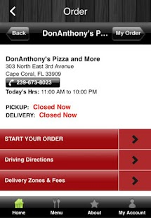DonAnthony's Pizza and More- screenshot thumbnail