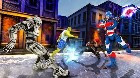 Superhero Avenger Strike Force 6