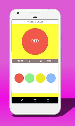 Word or Color (Stroop test) 38.0 screenshots 2