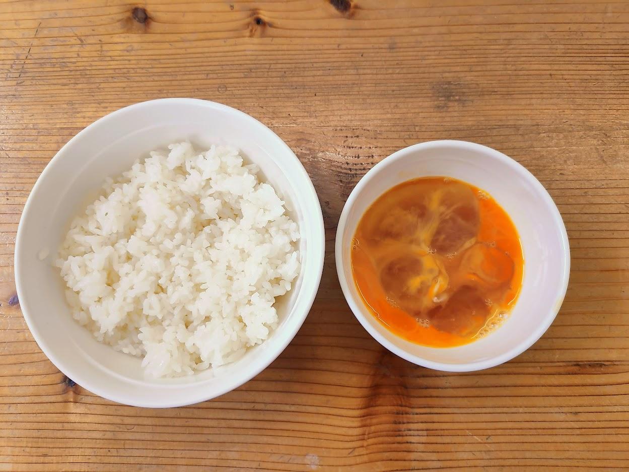 Món ăn giản đơn Trứng sống với cơm trắng 4