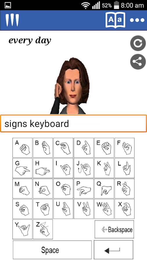 Mimix -Speech to Sign Language- screenshot