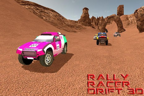 3D Fast Rally Racer Drift - náhled