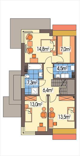 Diana Grande A segment - Rzut piętra