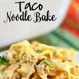 Taco Noodle Bake