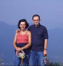 Photo: Agosto 1993 sulla cima del monte Tremalzo 1994m.