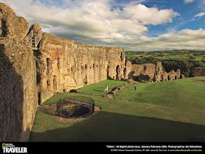 Photo: Denbigh Castle in the Denbigh on the northwest coast of Wales.Contact:  CADW, Plas Carew, Unit 5/7 Cefn Coed, Parc Nantgarw, Cardiff, Wales CF15 7QQ  Phone: 01443 33 6000.  Email: www.cadw.wales.gov.uk.