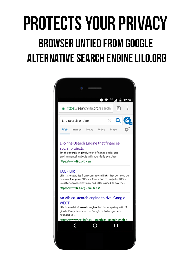 Lilo Browser- screenshot