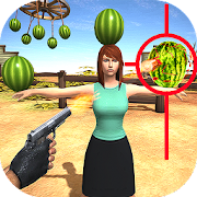 Watermelon Shooter: Free Fruit Shooting Games 2018