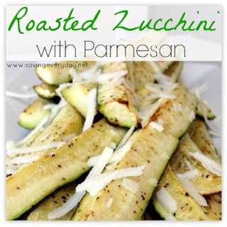 Oven Roasted Zucchini with Parmesan Recipe