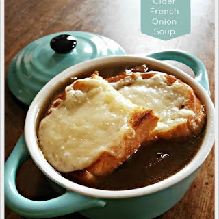 Apple Cider French Onion Soup